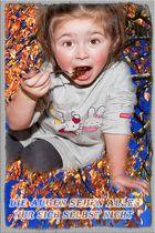 Fotomontage meiner Enkelin Hannah