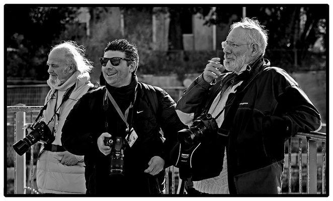 Fotoraduno Roma 5 - 4) ...e un' occhiata agli artisti di strada...