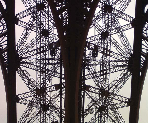 Fotorätsel oder Eiffelturm
