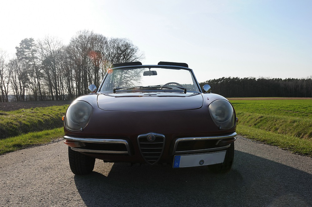 Fotoreihe Alfa Romeo Spider Veloce 1750