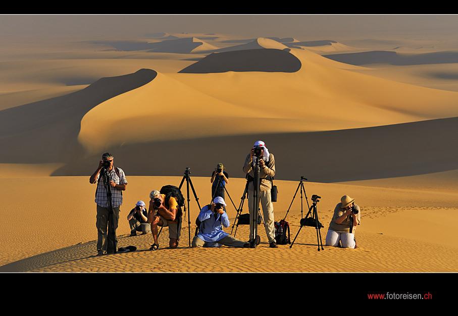 Fotoreise in der Weissen Wüste - Im Bild