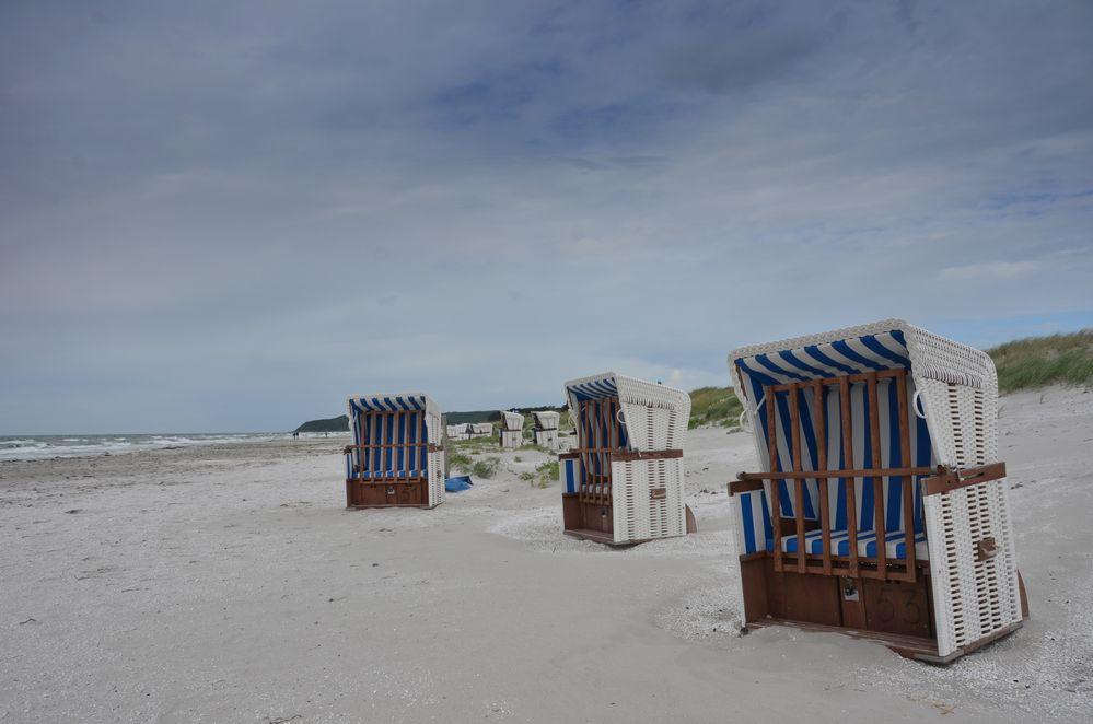 Fotos am Strand Vitte / Insel Hiddensee