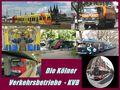 Fotos aus dem Kölner Nahverkehr von Günter Walther