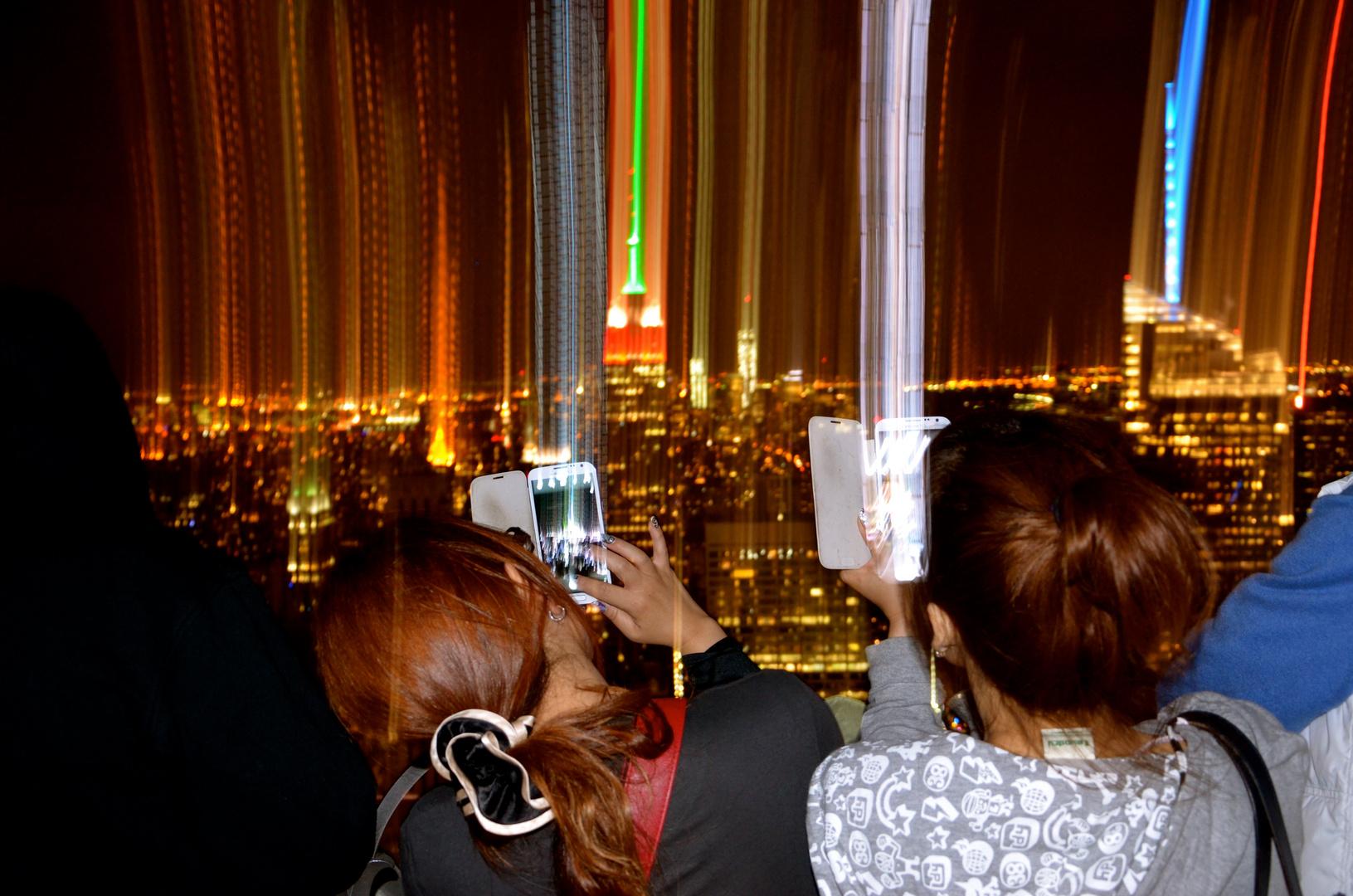 Fotos machen Rockefeller Center New York