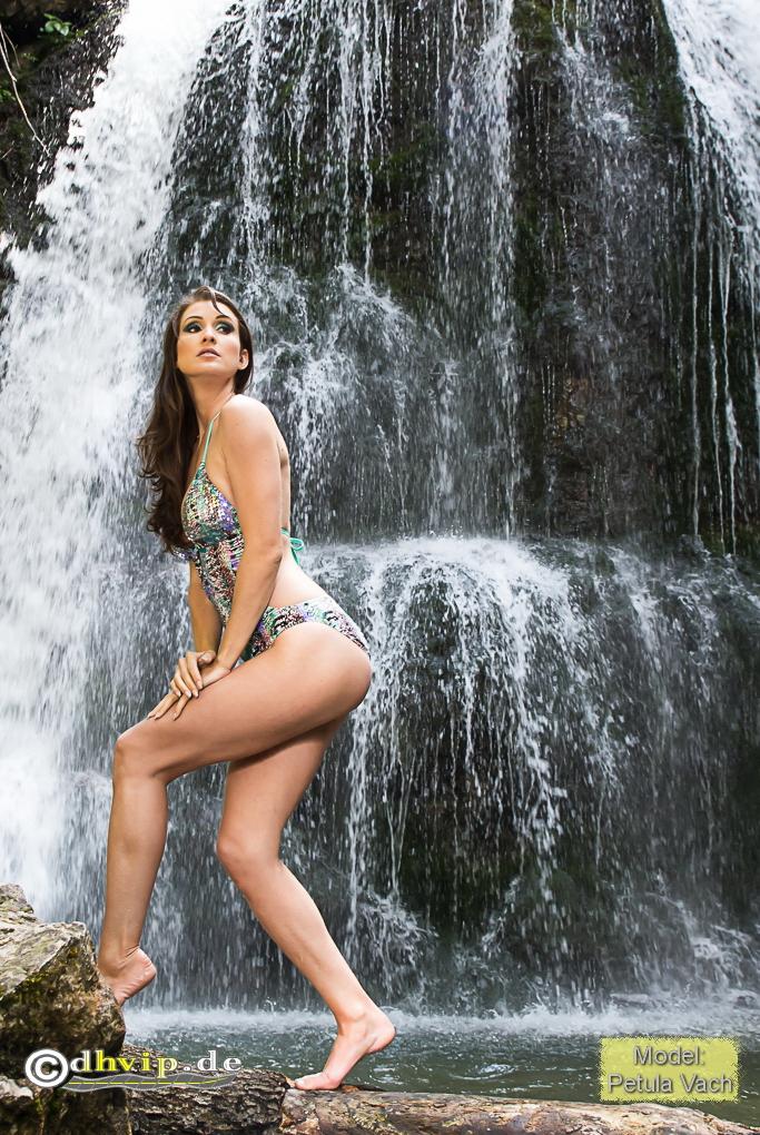 Fotoshooting am Wasserfall 1