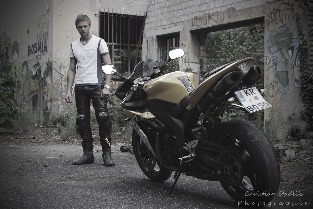 Motorrad Fotoshooting Frauen