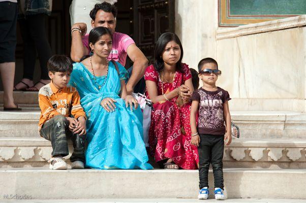 Fotoshooting in Jaipur / Indien