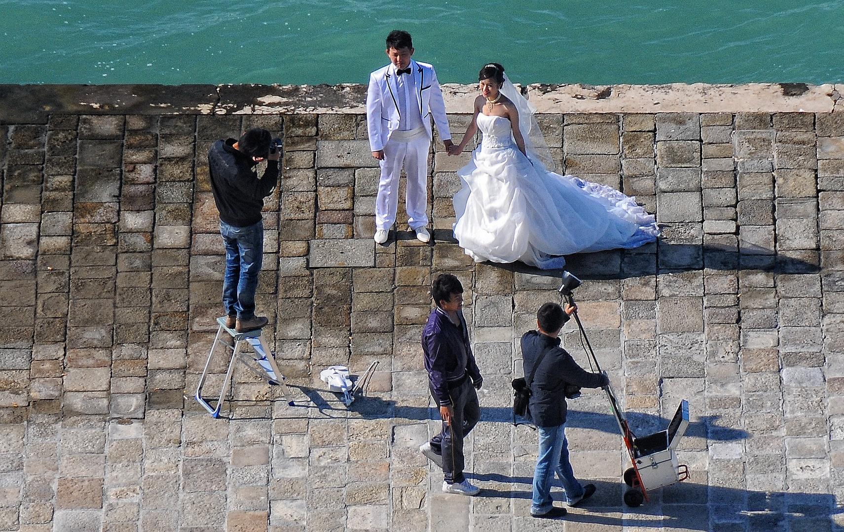 Fotoshooting in Venedig II