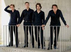 Fotoshooting mit dem Signum Saxophon Quartett II