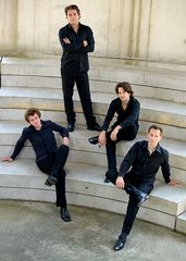 Fotoshooting mit dem Signum Saxophon Quartett III