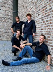 Fotoshooting mit dem Signum Saxophon Quartett VI