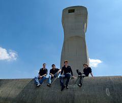 Fotoshooting mit dem Signum Saxophon Quartett X