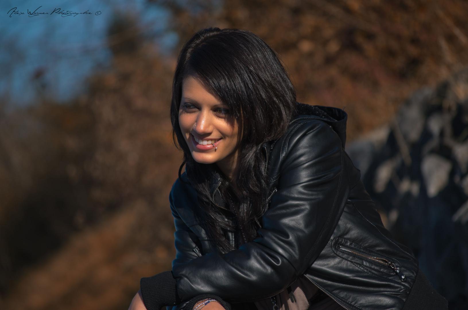 Fotoshooting mit Vero am Forggensee