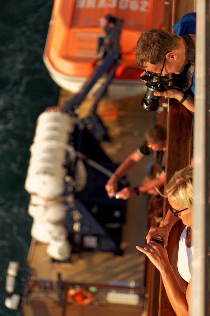 Fotoshooting on Sea