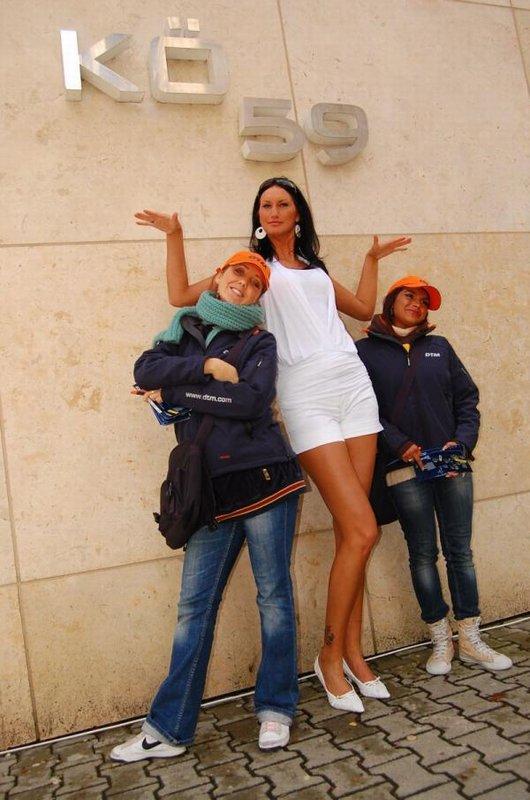 Fotoshooting zur DTM / Model Iwona Foto & Bild   fashion ...