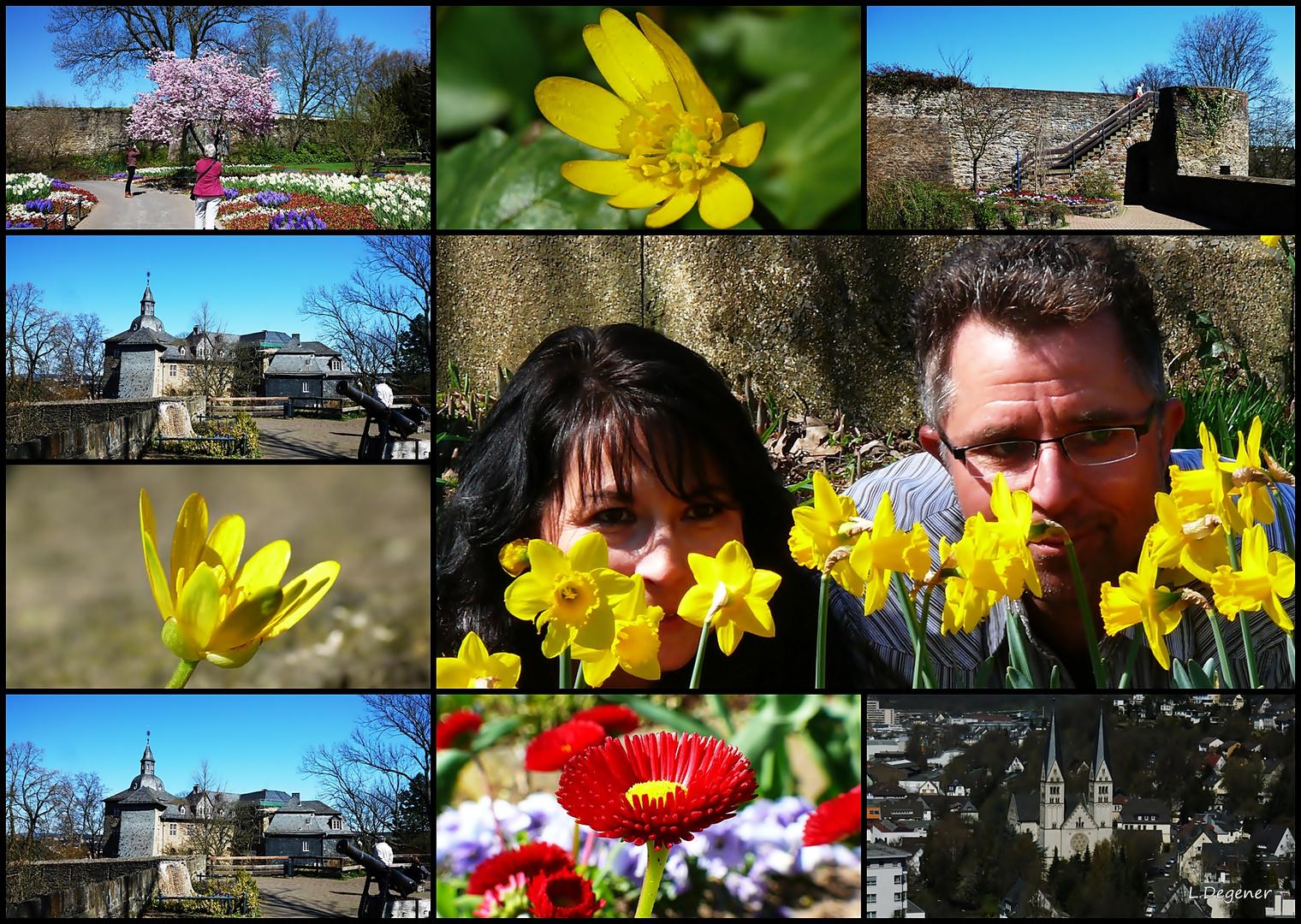 Fotospaziergang am Oberen Schloss