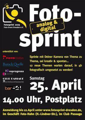 Fotosprint in Dresden 2009