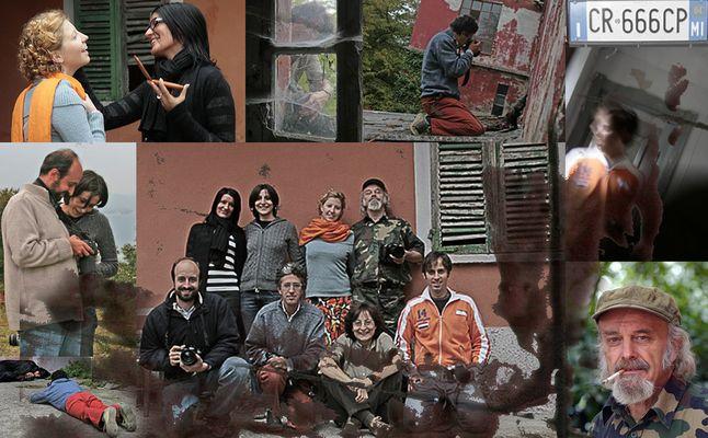 """Fotostoria: """"Il male dentro"""" - 21. Credits, Backstage, Foto di gruppo"""
