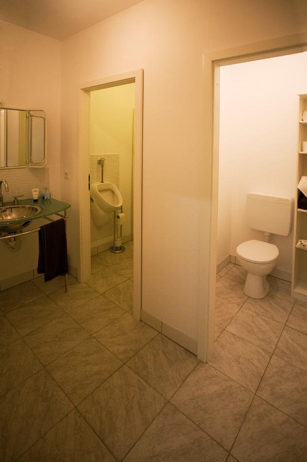 Fototstudio daylight WC's