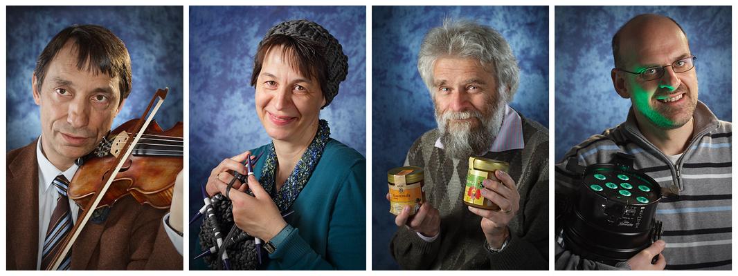Fotowand - Portraits Erwachsene