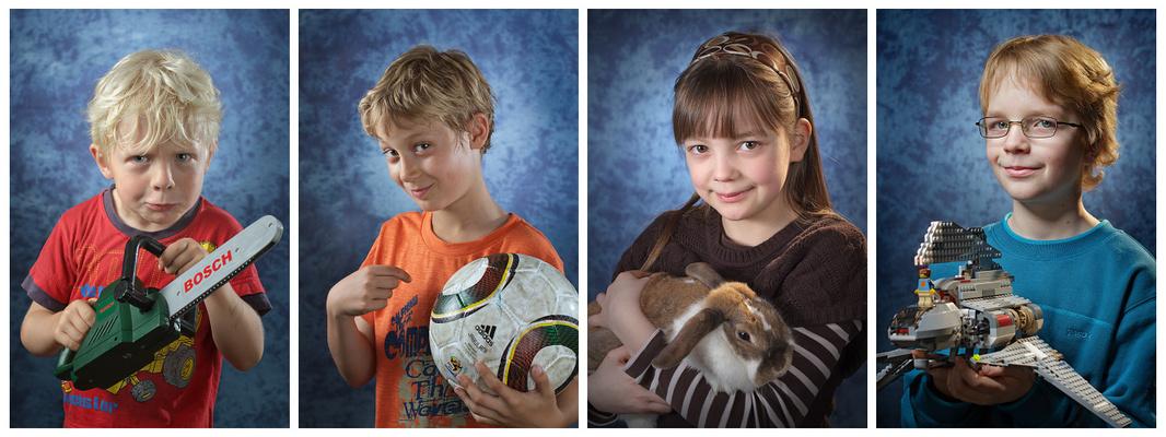 Fotowand - Portraits Kinder