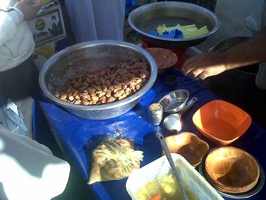foul au marché d 'el Oued