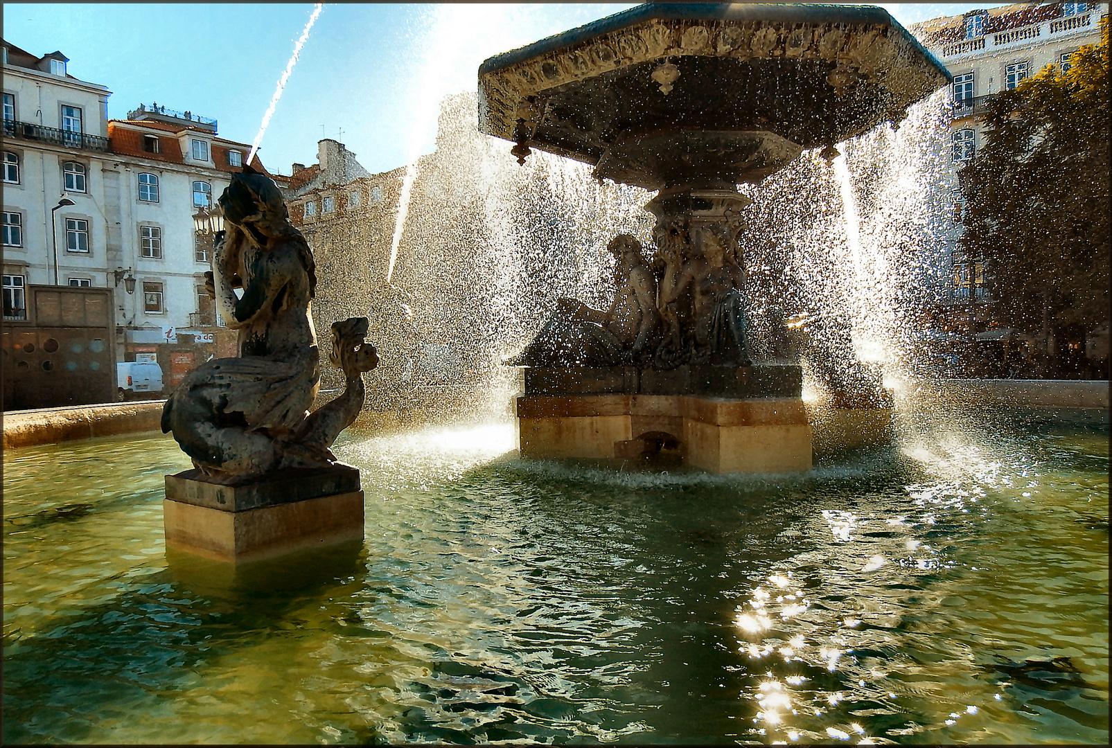 Fountain at Lisboa
