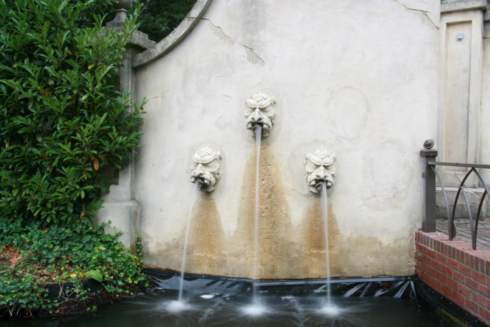 fountain at the Efteling.