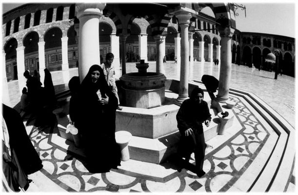 Fountain Girls/Omayad Mosque, Syria, Damascus