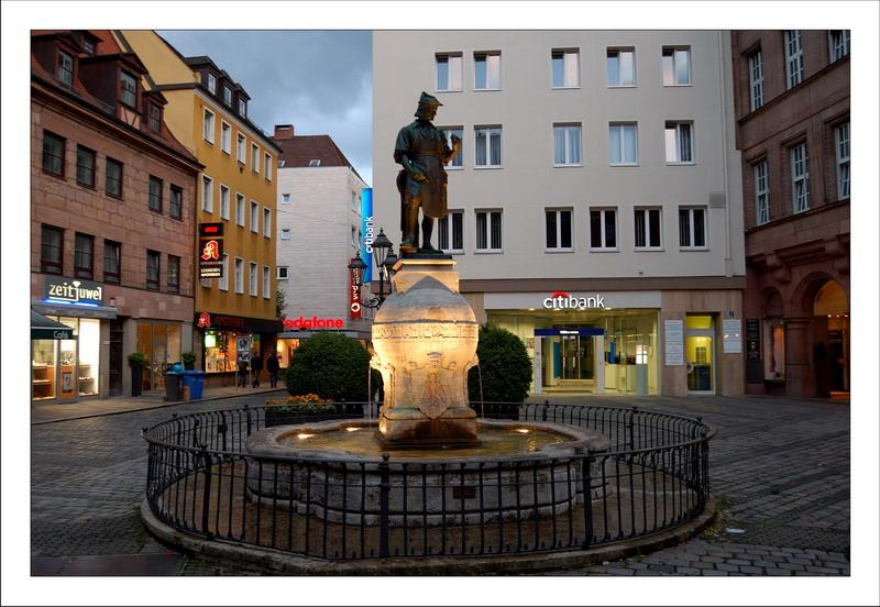Fountain in Nürnberg