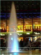 fountain in the night