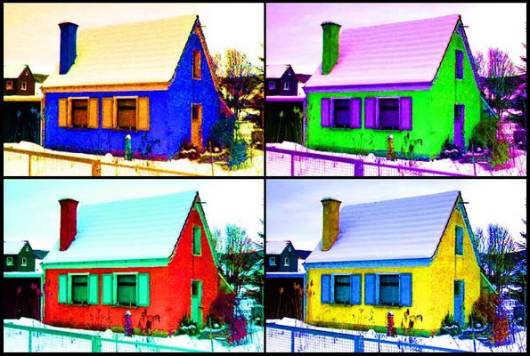 [Four Houses]