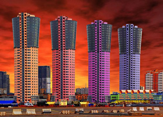 Four Towers. Moscow