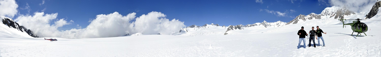 Fox Gletscher Neuseeland