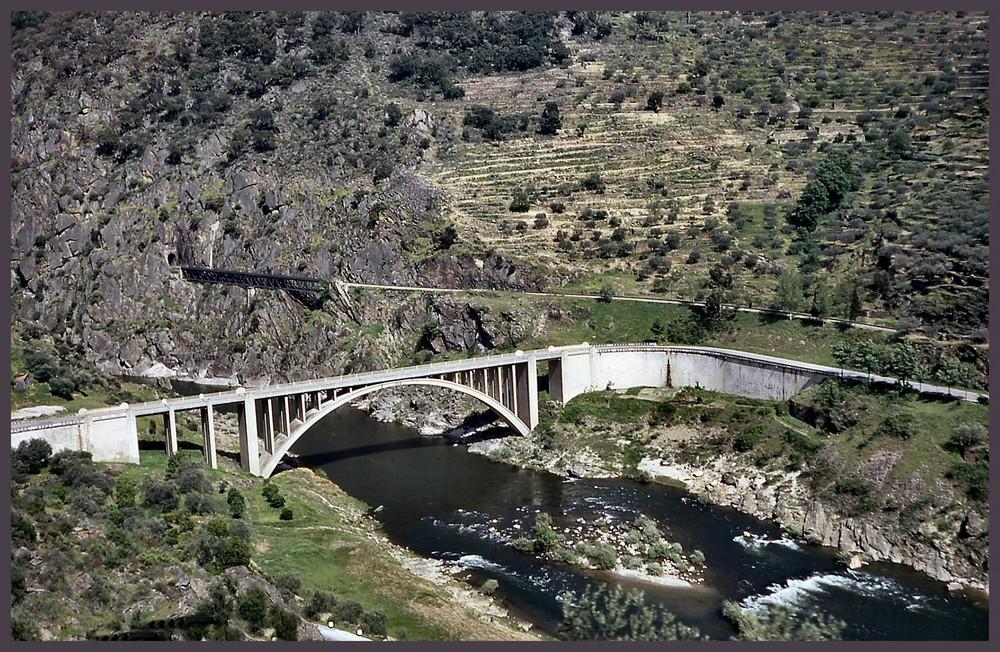 Foz do rio Tua ....Foce del fiume Tua Portugal