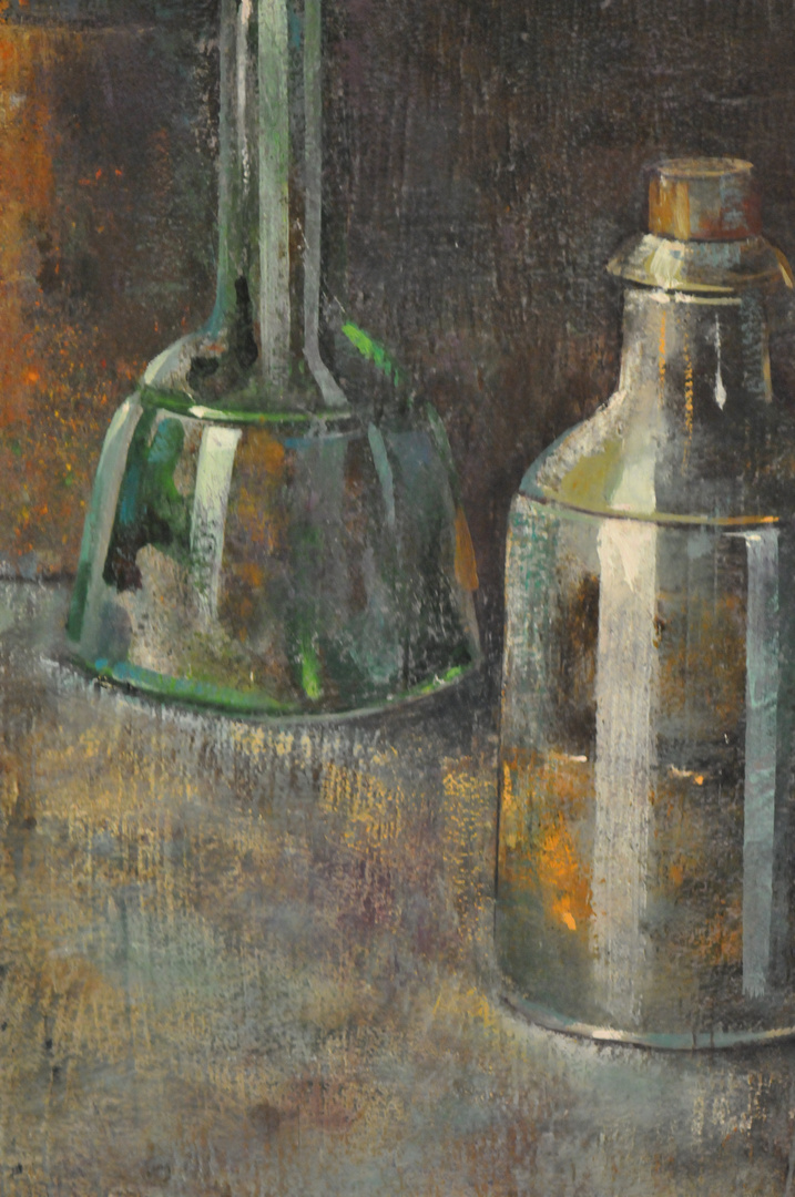 Fracmento de un bodegon del pintor: Jose de Paulino