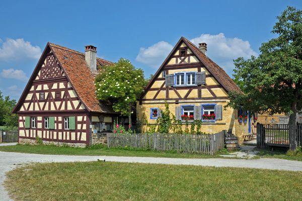 Fränkische Fachwerkhäuser