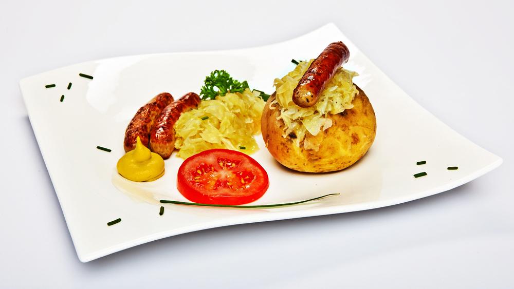 Fränkische Ofenkartoffel