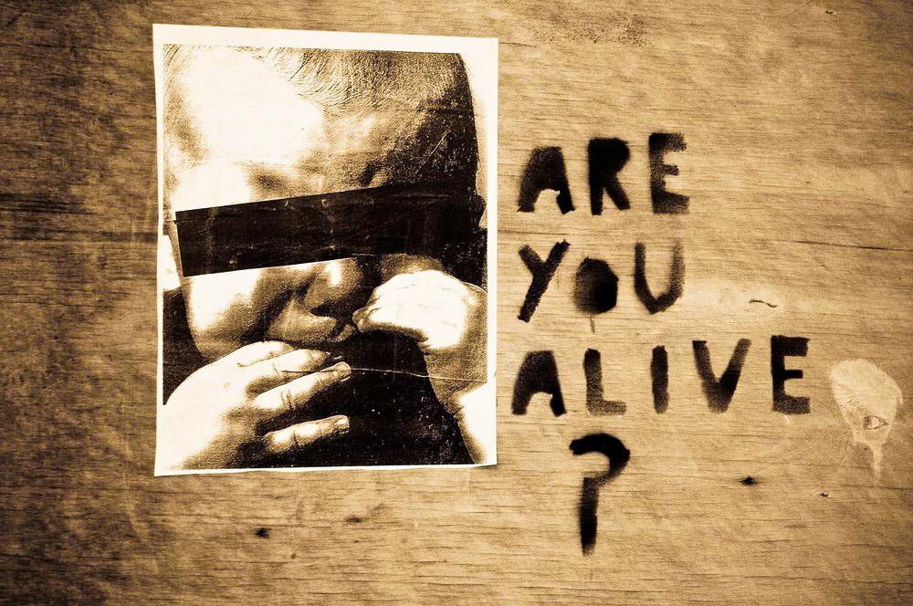 Frage an die Menschheit