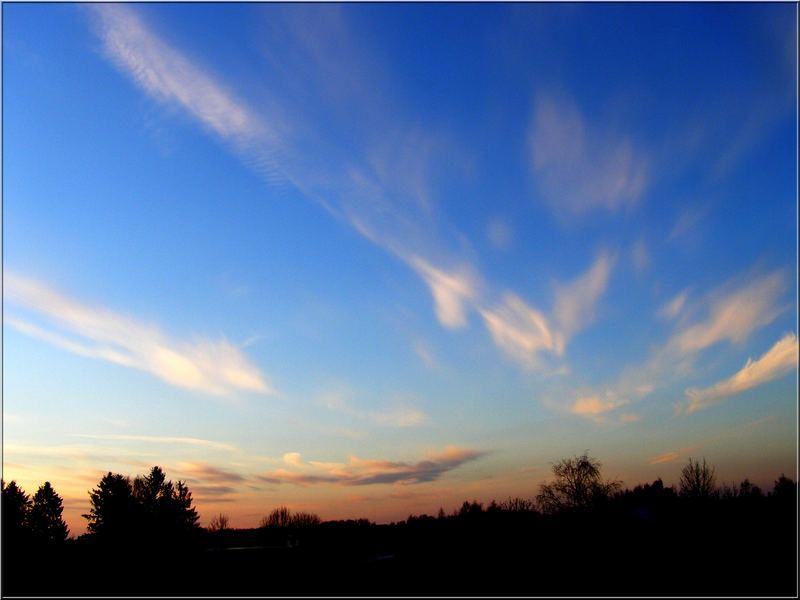 Fragile clouds