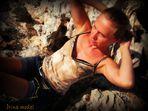 Fragilidad sobre rocas.(Menorca)