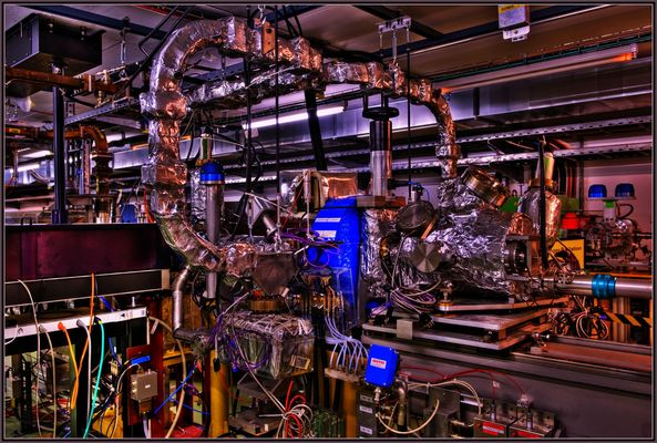 Fragment des Compact LInear Collider