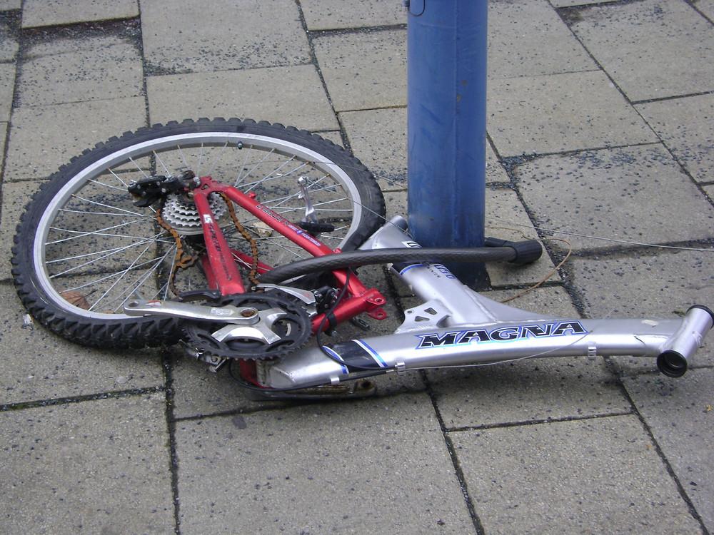"""""""Fragmente"""" eines Fahrrades"""
