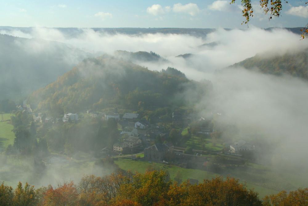 Frahan (Belgien) Herbststimmung