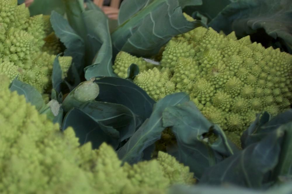Fraktales Gemüse