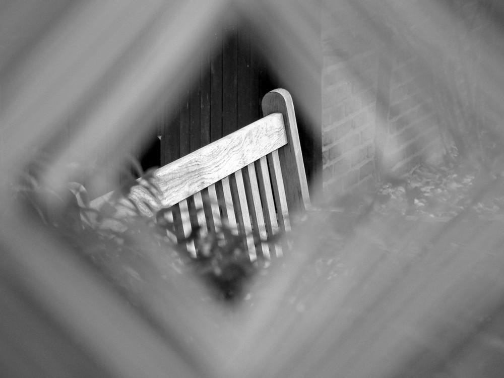 Framed Bench No. 3 !