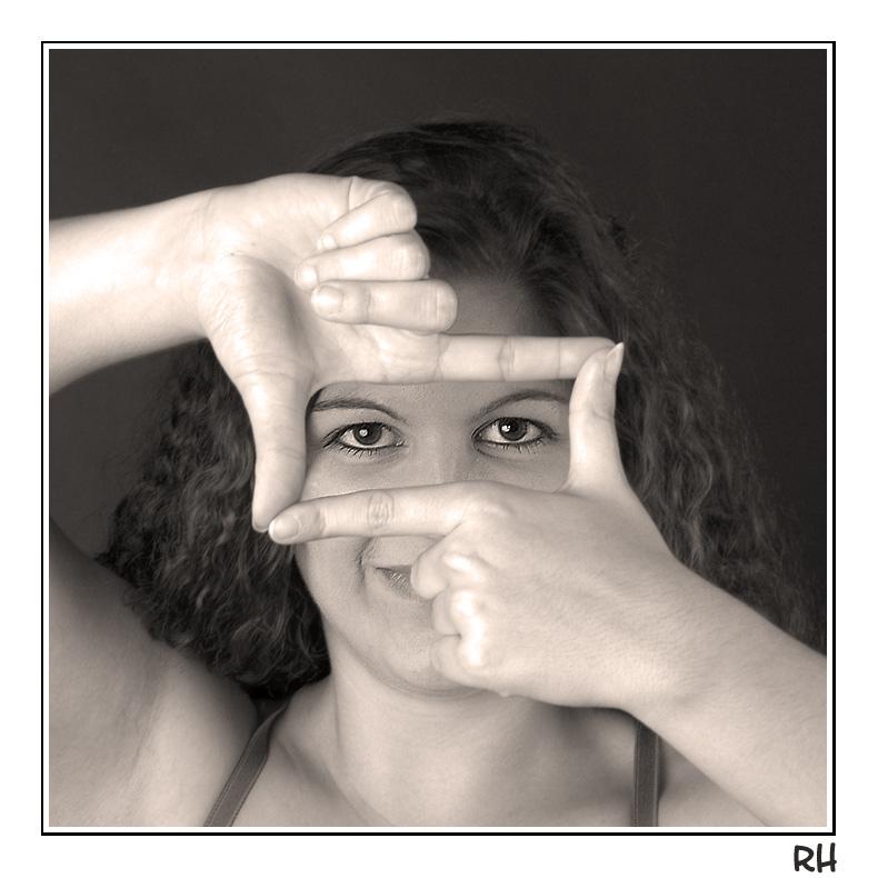 Framed Eyes