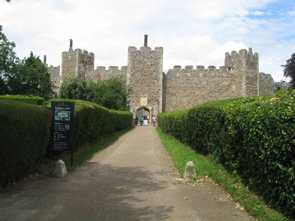 Framlingham Castle...