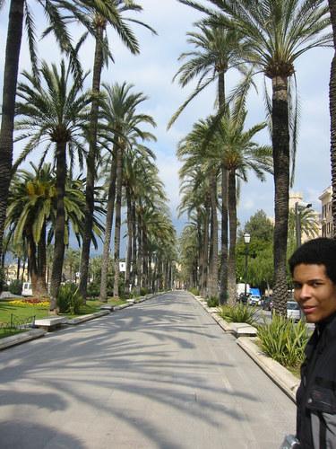 Francis auf Mallorca