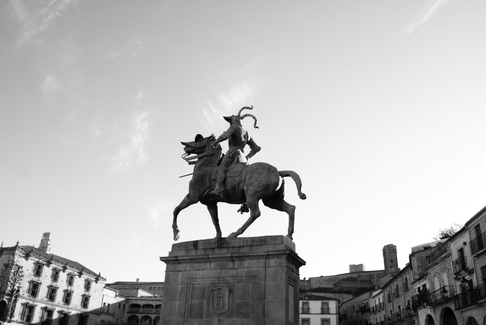 Francisco Pizarro, explorador y coonquistador.